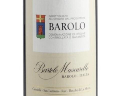 Bartolo Mascarello 2017, Monfortino 2015 e Produttori del Barbaresco 2018